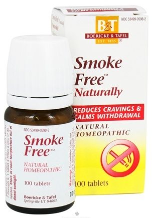 DROPPED: Boericke & Tafel - Smoke Free Naturally - 100 Tablets CLEARANCE PRICED