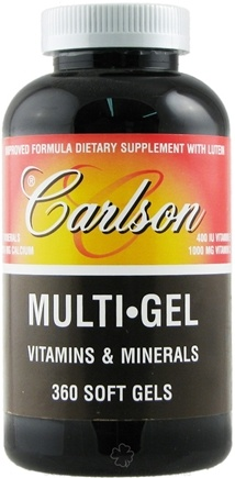 DROPPED: Carlson Labs - Multi-Gel Vitamins & Minerals - 360 Softgels