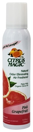 Citrus Magic - Odor Eliminating Air Freshener Pink Grapefruit - 3.5 oz.