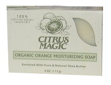 DROPPED: Citrus Magic - Organic Moisturizing Orange Bar Soap - 4 oz.
