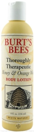 DROPPED: Burt's Bees - Honey & Orange Wax Body Lotion - 8 Oz.