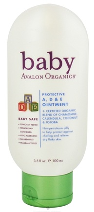 DROPPED: Avalon Organics - Baby Protective A, D & E Ointment Fragrance Free - 3.5 oz.