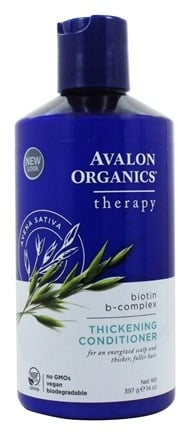 Avalon Organics - Conditioner Thickening Biotin B-Complex Therapy - 14 oz.