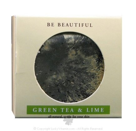 DROPPED: Beautiful Soap & Co. - Bar Soap Green Tea & Lime - 4 Oz.