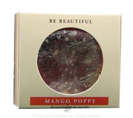 DROPPED: Beautiful Soap & Co. - Bar Soap Mango Poppy - 4 oz.