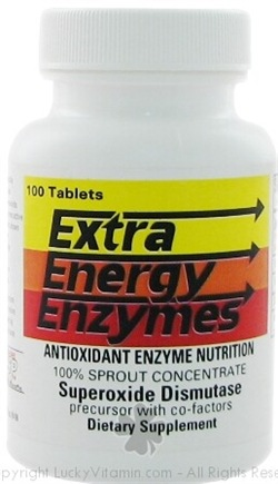DROPPED: Biotec Foods - Extra Energy Enzymes - 100 Tablets