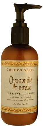 DROPPED: Common Sense Farm - Chamomile Primrose Lotion - 8.5 oz. CLEARANCE PRICED