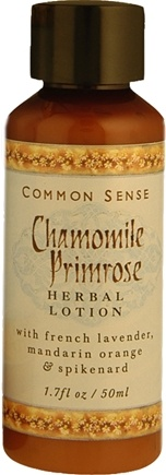 DROPPED: Common Sense Farm - Chamomile Primrose Lotion - 1.7 oz. CLEARANCE PRICED