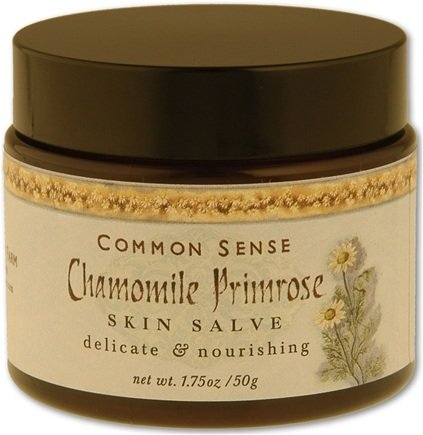 DROPPED: Common Sense Farm - Chamomile Primrose Salve - 1.75 oz. CLEARANCE PRICED