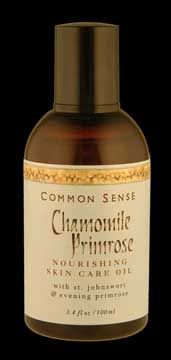 DROPPED: Common Sense Farm - Chamomile Primrose Skincare Oil - 3.4 oz.