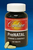DROPPED: Carlson Labs - PreNATAL Vitamins & Minerals - 240 Tablets