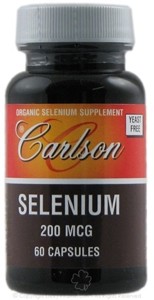 DROPPED: Carlson Labs - Selenium 200 mcg. - 60 Capsules CLEARANCE PRICED