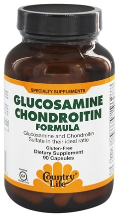 Country Life - Glucosamine Chondroitin Formula - 90 Capsules Formerly Biochem