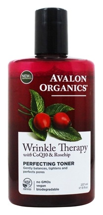 Avalon Organics - CoQ10 Repair Perfecting Facial Toner - 8 oz. (Formerly Cellular Renewing Wrinkle Defense Skin Care)
