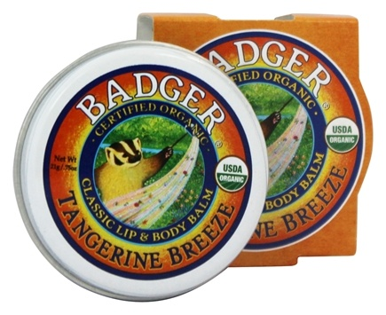 DROPPED: Badger - Lip & Body Balm Tangerine Breeze - 0.75 oz.