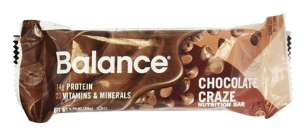 DROPPED: Balance - Nutrition Energy Bar Original Chocolate Craze - 1.76 oz.