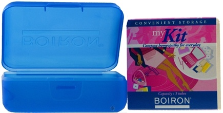 DROPPED: Boiron - My Kit Convenient Storage - Capacity: 3 Tubes