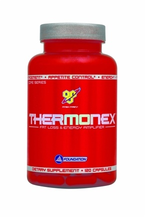 DROPPED: BSN - Thermonex Fat Loss & Energy Amplifier - 120 Capsules CLEARANCE PRICED