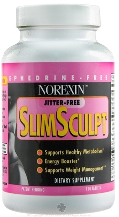 DROPPED: Biotech Corporation - Norexin SlimSculpt Ephedrine-Free Diet Formula - 120 Tablets CLEARANCE PRICED
