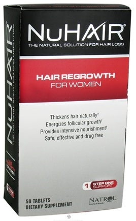 DROPPED: Nu Hair - Regrowth for Women - 50 Tablets Formerly Biotech Nu Hair Regrowth For Women