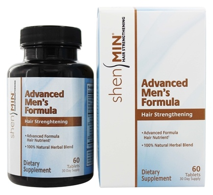 Shen Min - Hair Regrowth Advanced Men's Formula - 60 Tablets