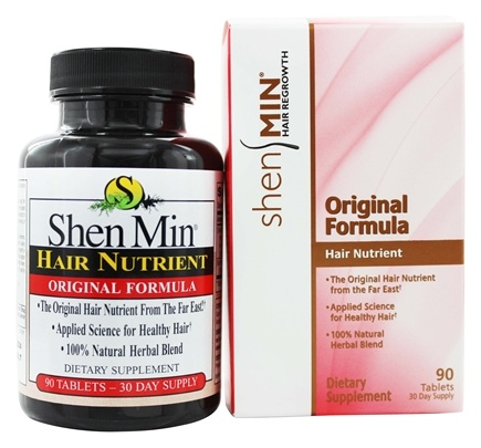 Shen Min - Hair Nutrient Original Formula - 90 Tablets