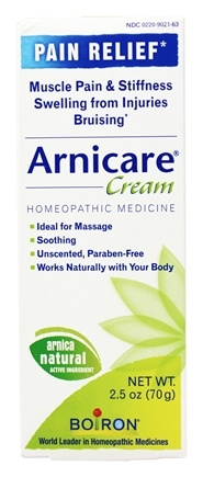 Boiron - Arnicare Arnica Cream Pain Relief - 2.5 oz.