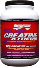 DROPPED: Champion Performance - Creatine Xtreme Grape - 4 Lbs.