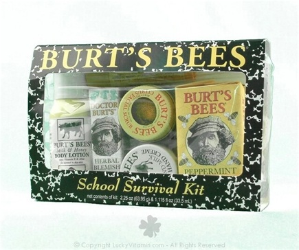 DROPPED: Burt's Bees - School Surivor Kit
