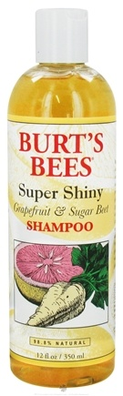 DROPPED: Burt's Bees - Shampoo Super Shiny Grapefruit & Sugar Beet - 12 oz. CLEARANCE PRICED