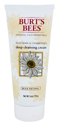 Burt's Bees - Deep Cleansing Cream Soap Bark & Chamomile - 6 oz.