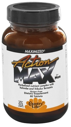 DROPPED: Country Life - Action Max For Men Maximized - 60 Tablets