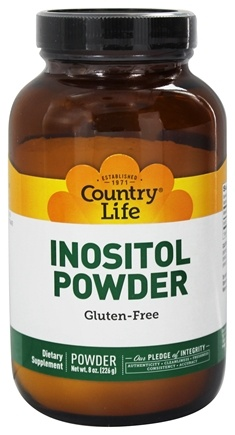 DROPPED: Country Life - Inositol Powder - 8 oz.