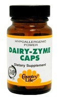 DROPPED: Country Life - Dairy-Zyme - 50 Capsules