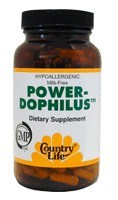 DROPPED: Country Life - Power-Dophilus II - 60 Vegetarian Capsules