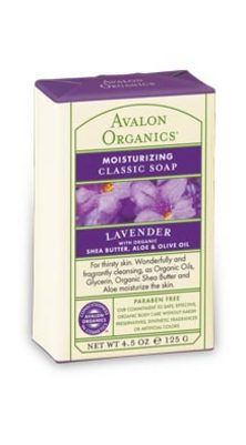 DROPPED: Avalon Organics - Moisturizing Classic Soap Lavender - 4.5 oz.