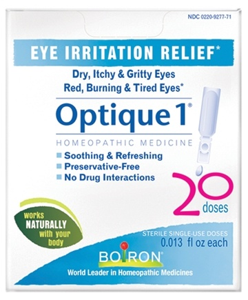 DROPPED: Boiron - Optique 1 Eye Drops - 20 Dose(s)