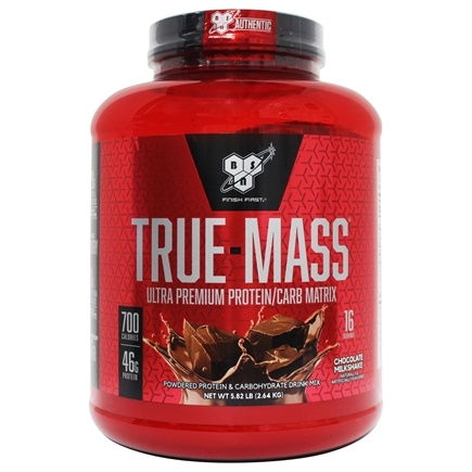 BSN - True-Mass Lean Mass Gainer Chocolate - 5.75 lbs.