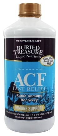 Buried Treasure Products - ACF Fast Relief Immune Support High Potency - 16 oz.