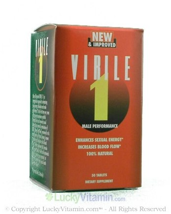 DROPPED: Biotech Corporation - Virile 1 Male Performance - 50 Tablets