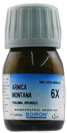 DROPPED: Boiron - Arnica Montana 6 X - 275 Tablets CLEARANCE PRICED