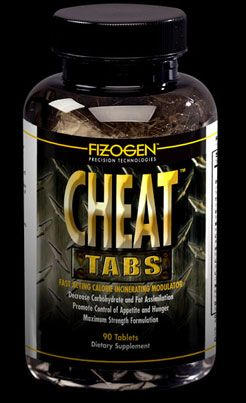 DROPPED: Fizogen - Cheat Tabs - Fast Acting Calorie Incinerating Modulator - 90 Tablets