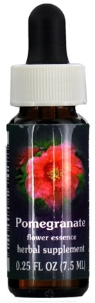 DROPPED: Flower Essence Services - Pomegranate Flower Essence - 0.25 oz. CLEARANCE PRICED