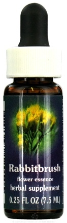 DROPPED: Flower Essence Services - Rabbitbrush Flower Essence - 0.25 oz. CLEARANCE PRICED