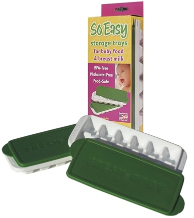 DROPPED: Fresh Baby - So Easy Baby Food/Breast Milk Storage Trays with Lids - CLEARANCED PRICED