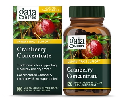Gaia Herbs - Cranberry Concentrate - 60 Capsules