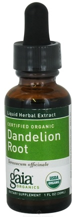 DROPPED: Gaia Herbs - Dandelion Root Certified Organic - 1 oz. CLEARANCE PRICED