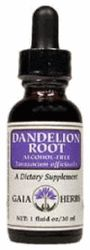 DROPPED: Gaia Herbs - Dandelion Root Liquid Extract - 1 oz.