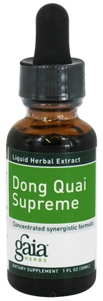 DROPPED: Gaia Herbs - Dong Quai Supreme - 1 oz. CLEARANCE PRICED