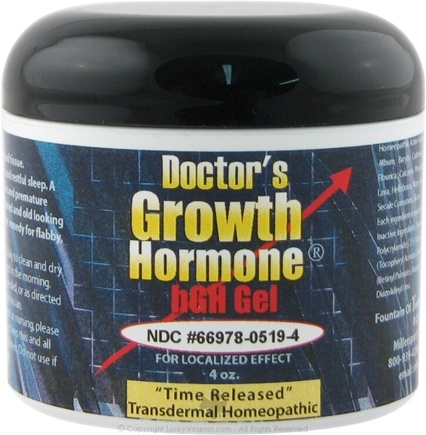 DROPPED: Fountain of Youth Technologies - Doctor's Growth Hormone - 4 oz.